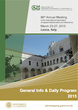 GAMM2015 General Info and Daily Program