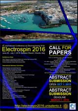 Electrospin2016 - A3 Poster Conference and Call for Papers