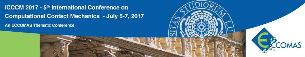 V International Conference on Computational Contact Mechanics - ICCCM 2017