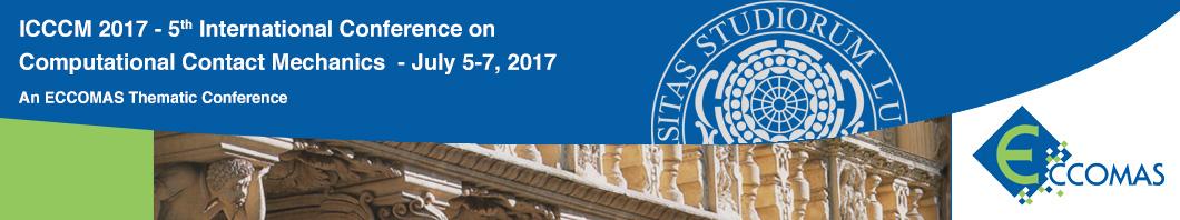 V International Conference on Computational Contact Mechanics - ICCCM 2017